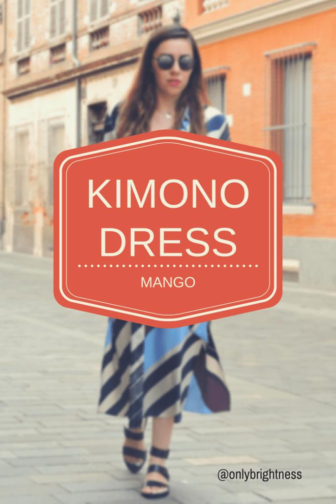 KIMONODRESS 683x1024 - Mango Kimono Dress