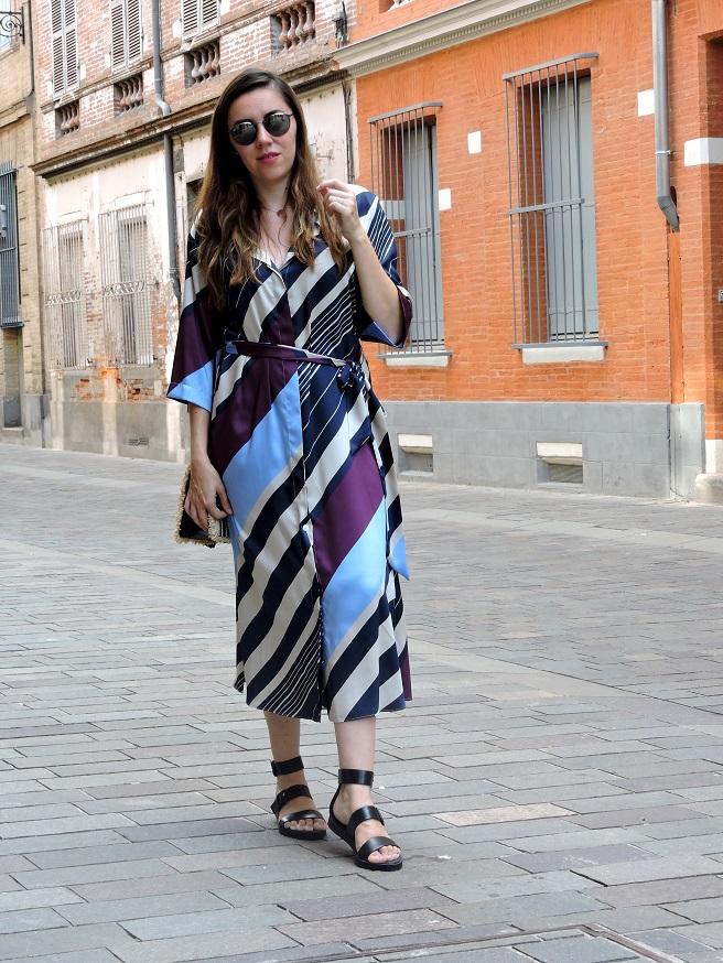 kimono dress onlybrightness 1 - Mango Kimono Dress