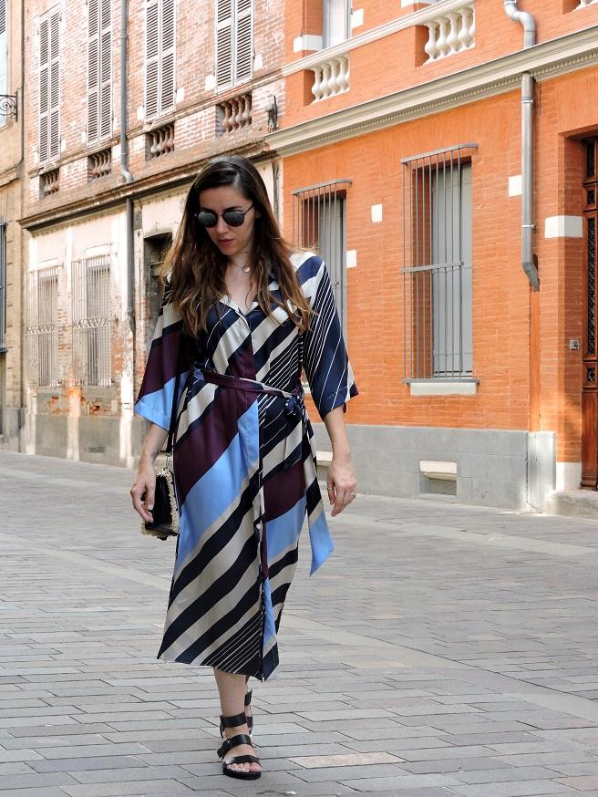 kimono dress onlybrightness 3 - Mango Kimono Dress