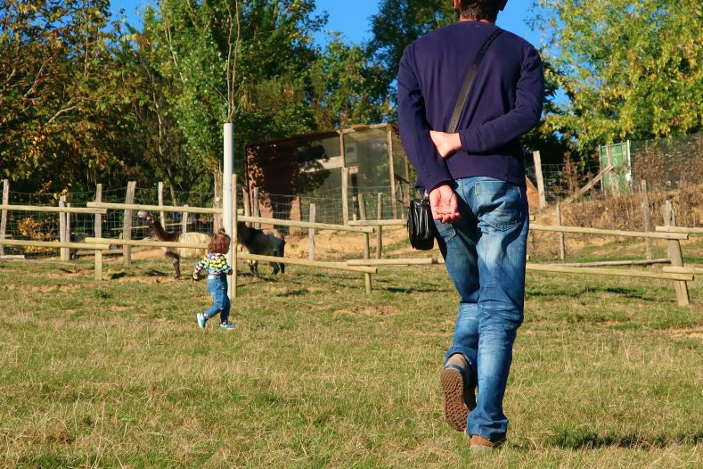 blog lifestyle toulouse père et fille - Le Parc Animalier Saint Michel