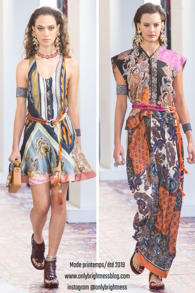 Mode printemps_été 2019 Chloé imprimé foulard onlybrightness