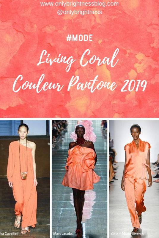 Living Coral Couleur Pantone 2019 #tendancemode2019 #livingcoral #pantone2019 #fashion