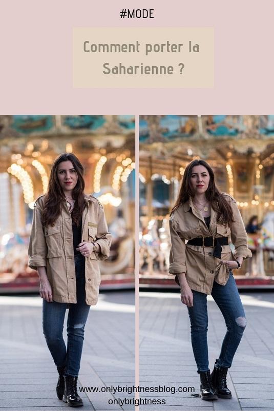 saharienne onlybrightness #mode #fashion #saharienne #printempsété