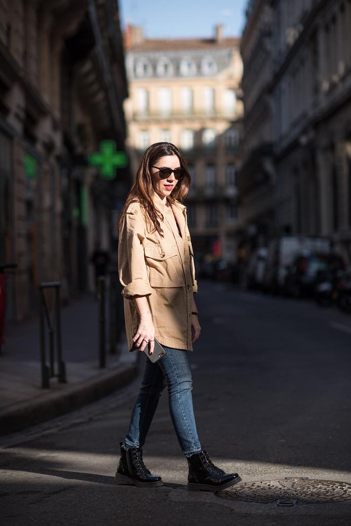 saharienne onlybrightness mode - Comment porter la Saharienne