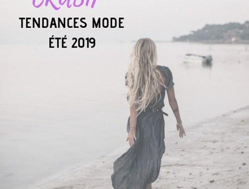tendances mode été 2019