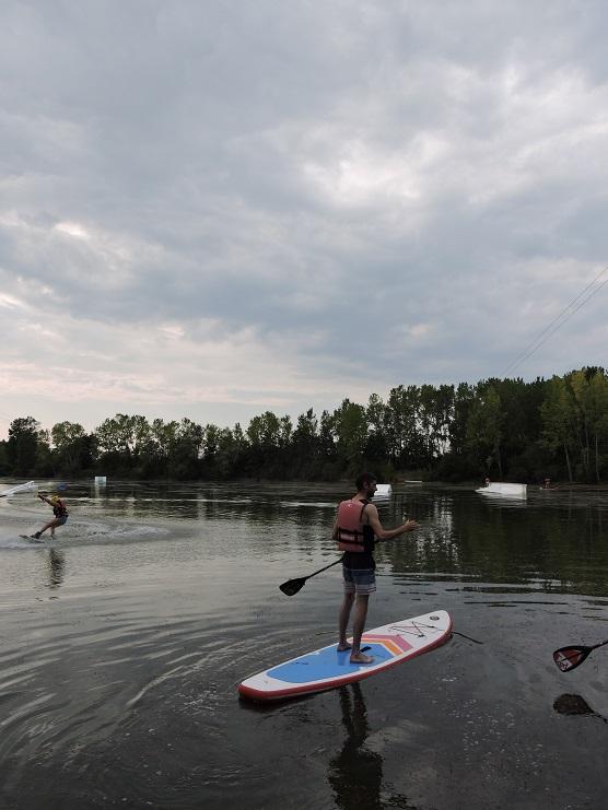 cours de paddle toulouse - Paddle à Toulouse : Découverte de la Base Nautique OriginalGreenPark !