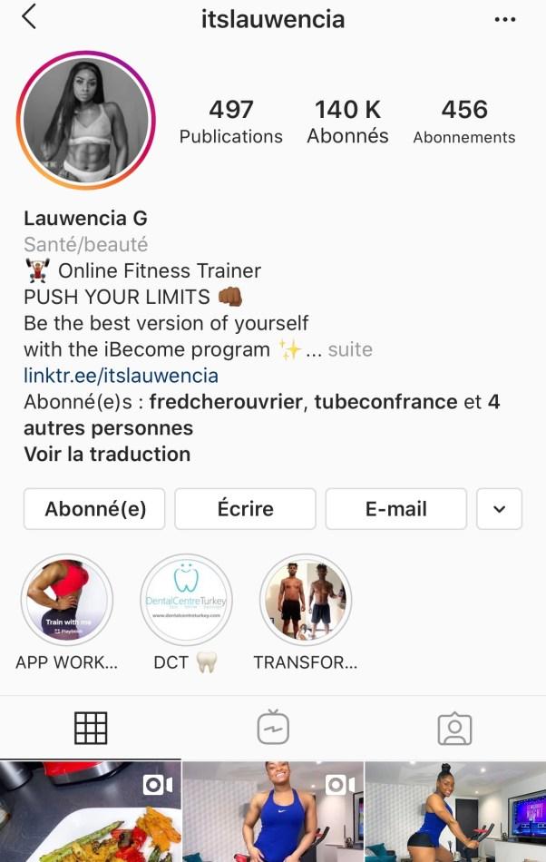 itslauwencia instagram - Portraits de Femmes : Lauwencia Gauthierot