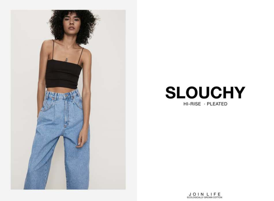 Jeans Slouchy Zara - Comment Porter le Jeans Slouchy