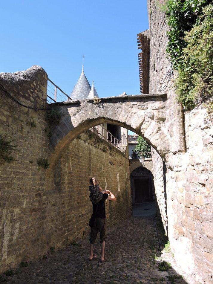 visite de carcassonne famille rotated - Fête des Pères : Carcassonne en Famille
