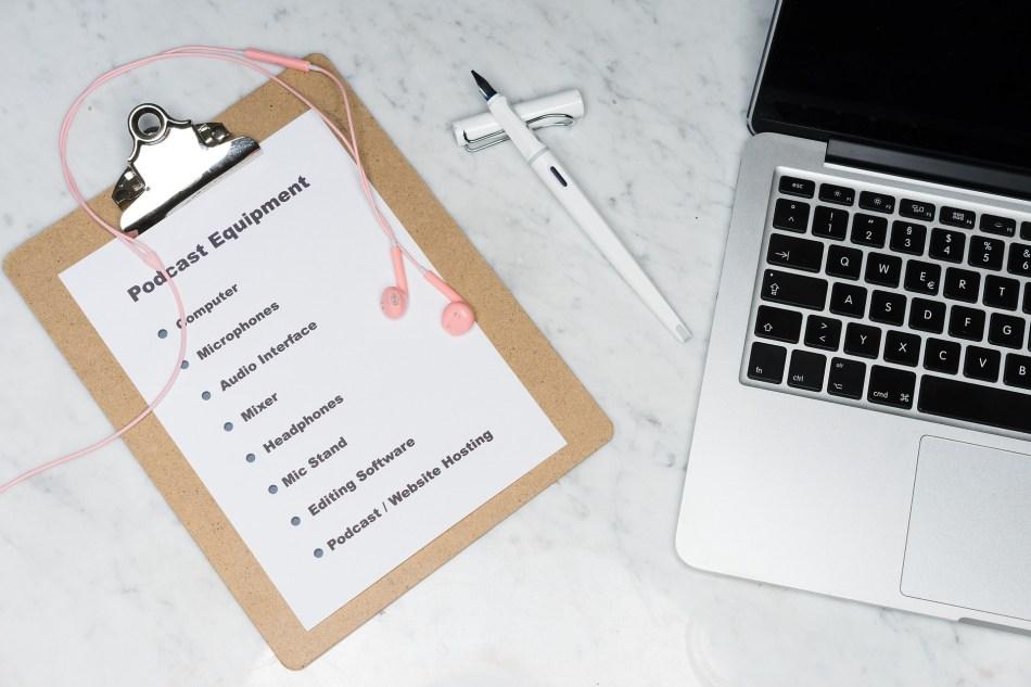 matériel pour podcast - Lancer un Podcast : 9 Avantages pour votre Blog et votre Business