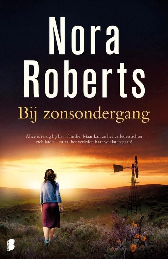 Recensie Bij Zonsondergang, Nora Roberts