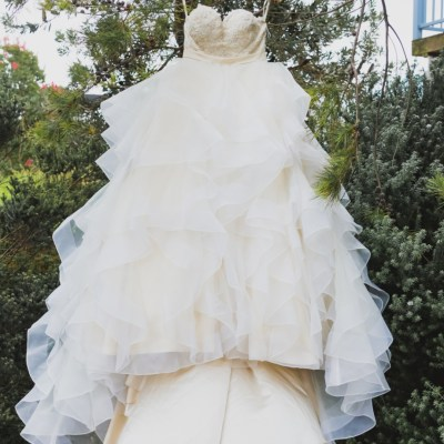 size 10 princess wedding dress | pre-loved wedding dresses australia