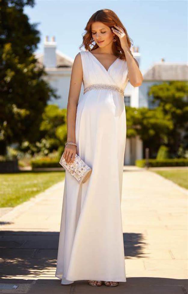 tiffany rose maternity wedding dress | pre-loved wedding dress