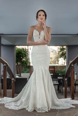 ivory millinity bridal couture wedding dress | wedding dress hire