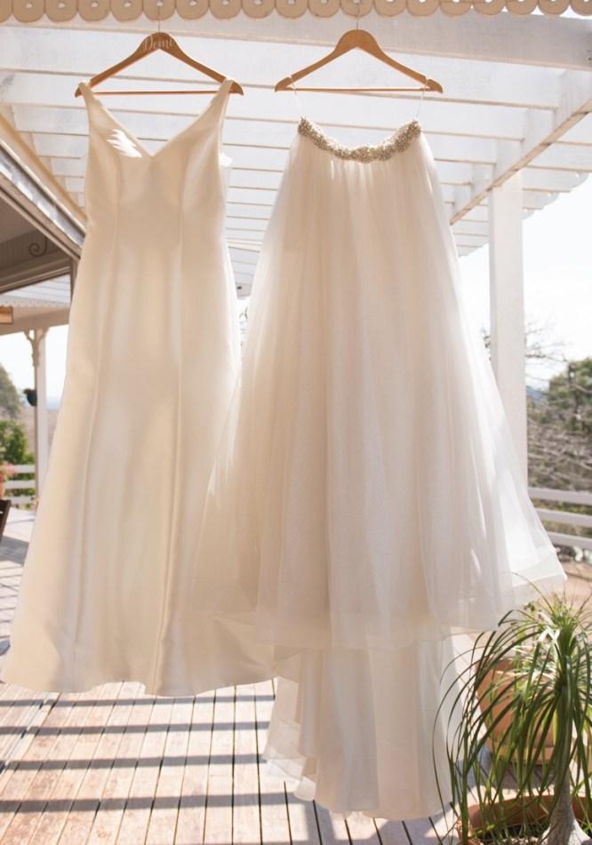 minimal wedding dress | preloved wedding dress