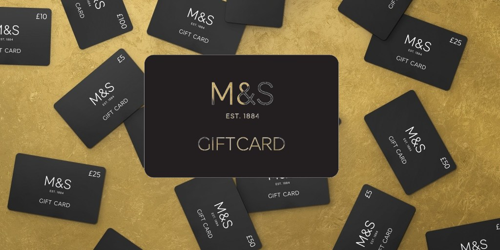 M&S gift card