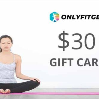 Gift Card [Email Delivery] - Gift Card $30- Only Fit Gear