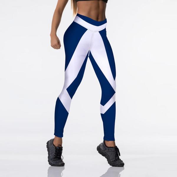 Yoga & Fitness High Waisted Printed Leggings