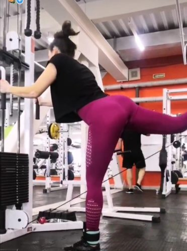 Yoga and Fitness Push Up Seamless High Waisted Leggings photo review