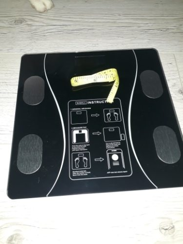 Smart Body Weight Scale With Smartphone App Bluetooth photo review