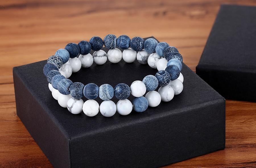 Yoga Natural Stone Beaded Bracelet