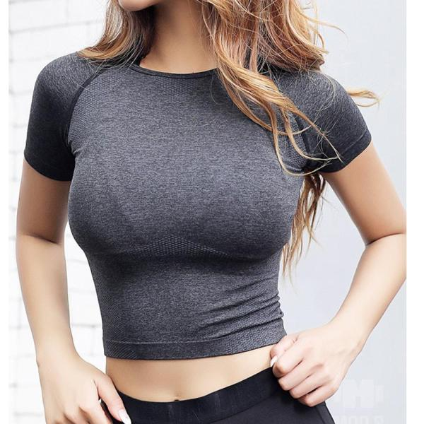 Yoga & Fitness Top Basic Scoop Neck Shirts - Yoga Top - Only Fit Gear