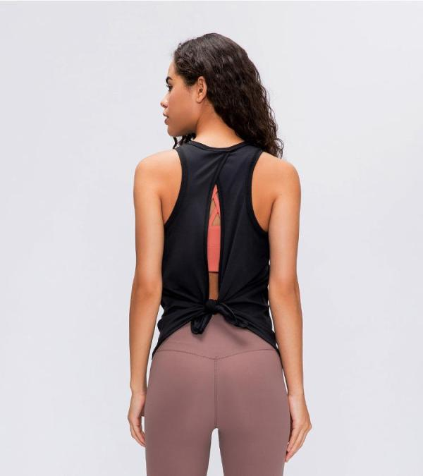 Yoga & Fitness Open Back Sleeveless Tank Tops - Yoga Top - Only Fit Gear