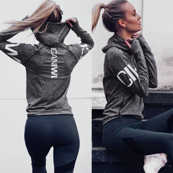 Yoga & Fitness Hooded Jacket - Yoga Jacket - Only Fit Gear