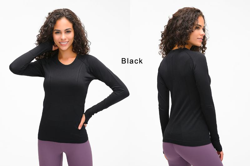 Yoga Seamless Top Super Soft Long Sleeve in 6 Fun Colour