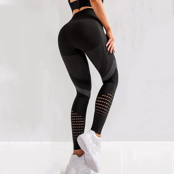 Yoga and Fitness Push Up Seamless High Waisted Leggings