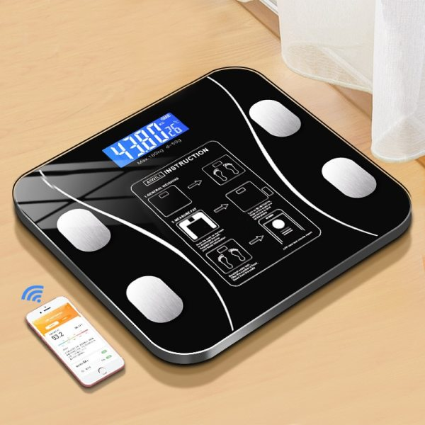 Smart Body Weight Scale With Smartphone App Bluetooth