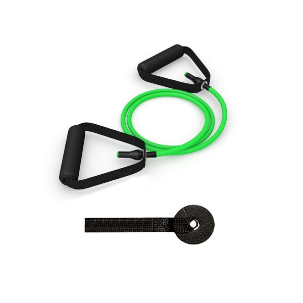 Yoga and Fitness Resistance Bands with Tensile Expander