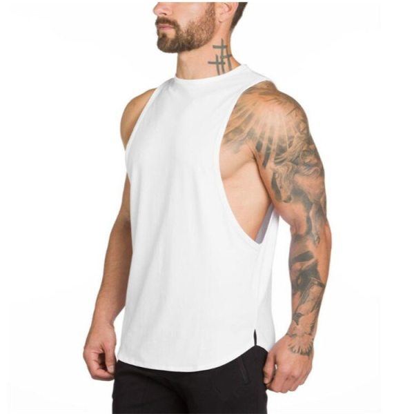Fitness and Bodybuilding Sleeveless T-Shirt