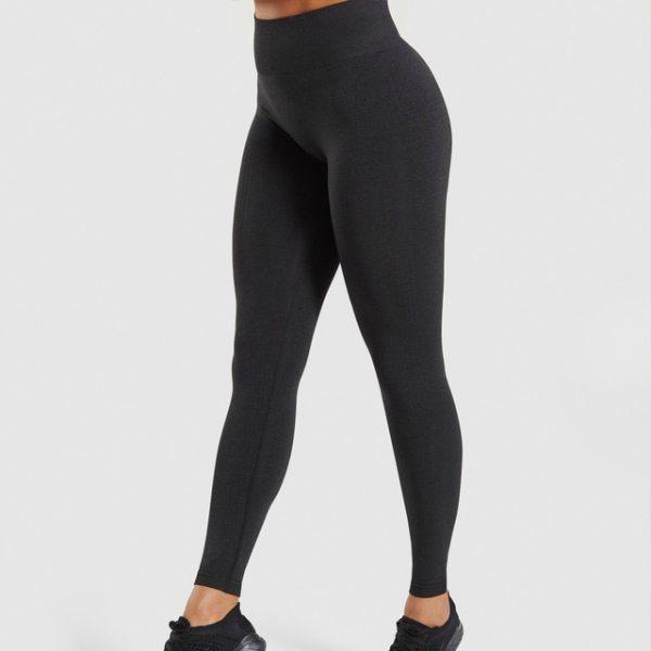 Womens Seamless High Waisted Leggings