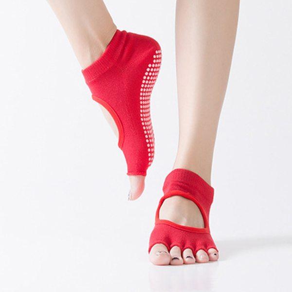 Yoga and Fitness Socks Anti Slip