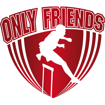 Logo Only Friends Atletiek