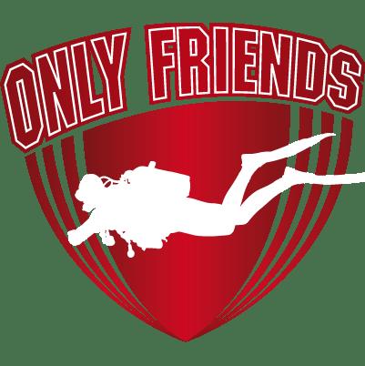 Logo Only Friends Duiken