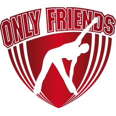 Logo Only Friends Fitness