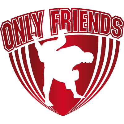 Logo Only Friends Judo