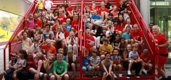 Groepsfoto deelnemers Downkerndag 2011