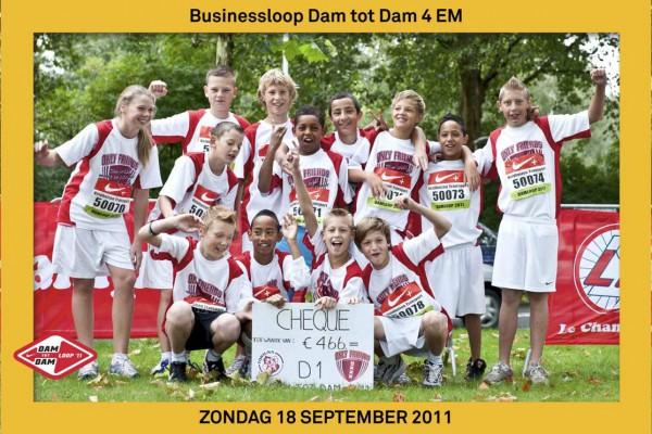 SC Fortuna bij Dam tot Damloop