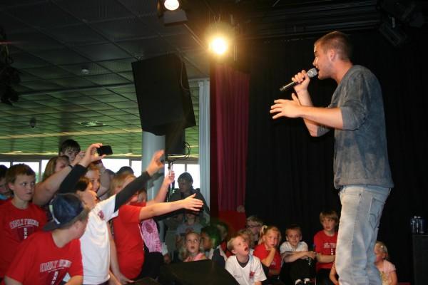 Jim Bakkum op Jacques Parson Dag