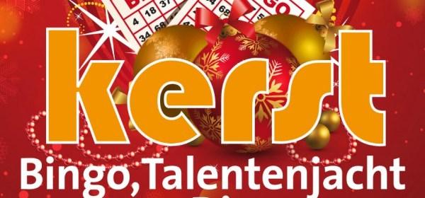 Poster Only Friends Kerstbingo Talentenjacht en Disco