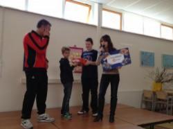 Donatie basisschool de Branding 2012
