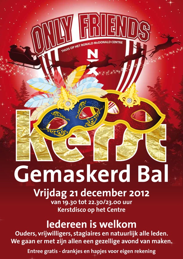 Vrijdag 21 december 2012 vanaf 19:30u