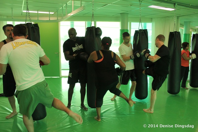 The Crunch kickboksclinic door Ernesto Hoost