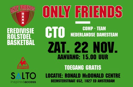 Basketbal poster 22 nov liggend