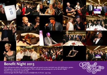 Impressie Benefit Night 2013