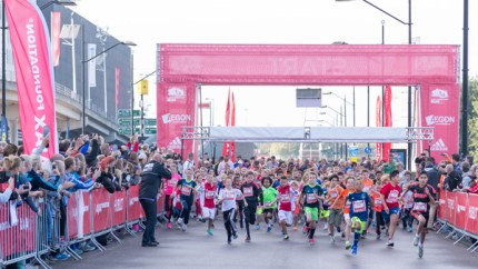 Ajax Foundation Run, Amsterdam ArenA.