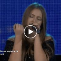 "Casting Talent Show ""Тајно Моја"" | АНТОНИА ГИГОВСКА - КАЗНА МОЈА СИ ТИ"